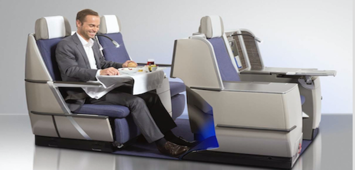 Brussels Airlines A330s feature Thompson Aero Seating Vantage business class seats