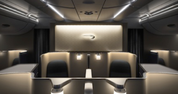 The new British Airways Airbus A380 interiors will be joined by the airline's Boeing 787 Dreamliner fleet