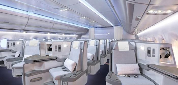 finnair a350 business class designed by dsign vertti kivi