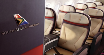 SOuth African Airways A320 aircraft cabin interiors have been designed with Priestmangoode