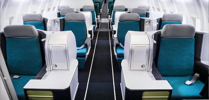 aer lingus business class thompson seats
