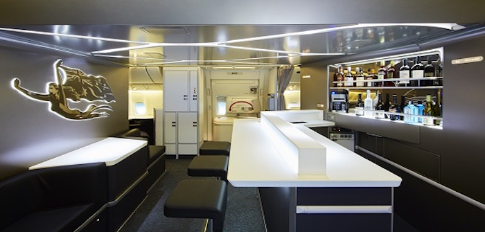 virgin australia boeing 777 bar