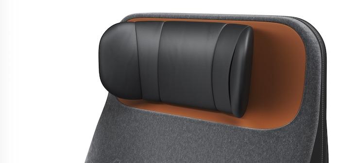 Haeco arc headrest