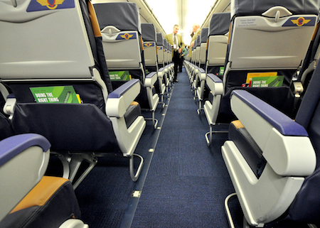 Southwest Airlines Green Plane Aircraft Interiors
