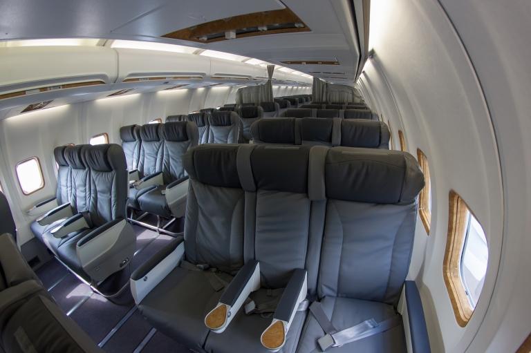 Oryx Jet S Boeing 737 500 Aircraft Interiors International