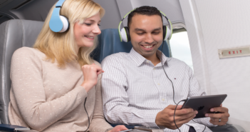 DRM (digital rights management)-protected movies will soon be able to be played on Apple iOS devices, following a new development by Lufthansa Systems and its partner, castLabs