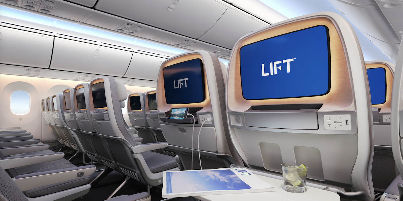LIFT By EnCore Is Off To A Strong Start In The Aircraft Seating Sector
