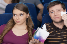 do passengers cry more when watching films on a plane?