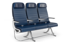 The Rockwell Collins Aspire economy seat for widebody aircraft has entered service on a United Airlines Boeing 777-200
