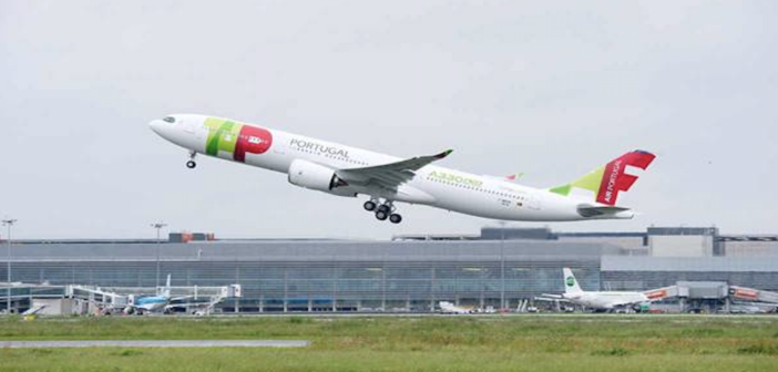 The Airbus A330neo for TAP Air Portugal features the Airspace by Airbus cabin design