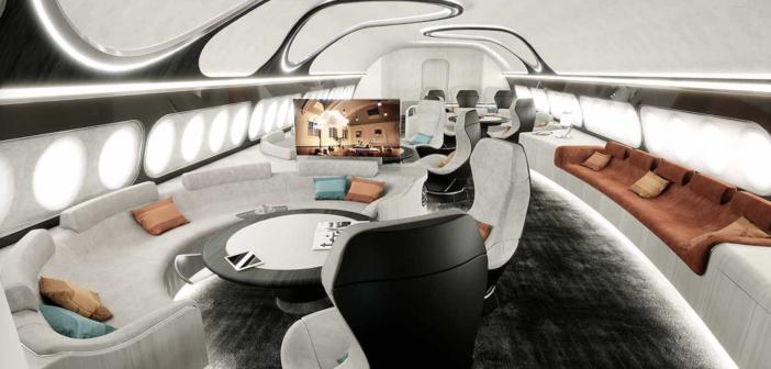 Airbus ACJ330 Harmony cabin