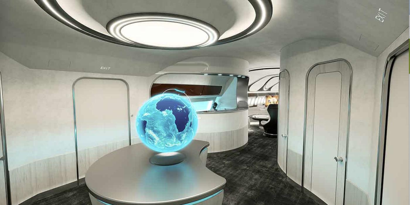 Airbus ACJ330 Harmony cabin interior