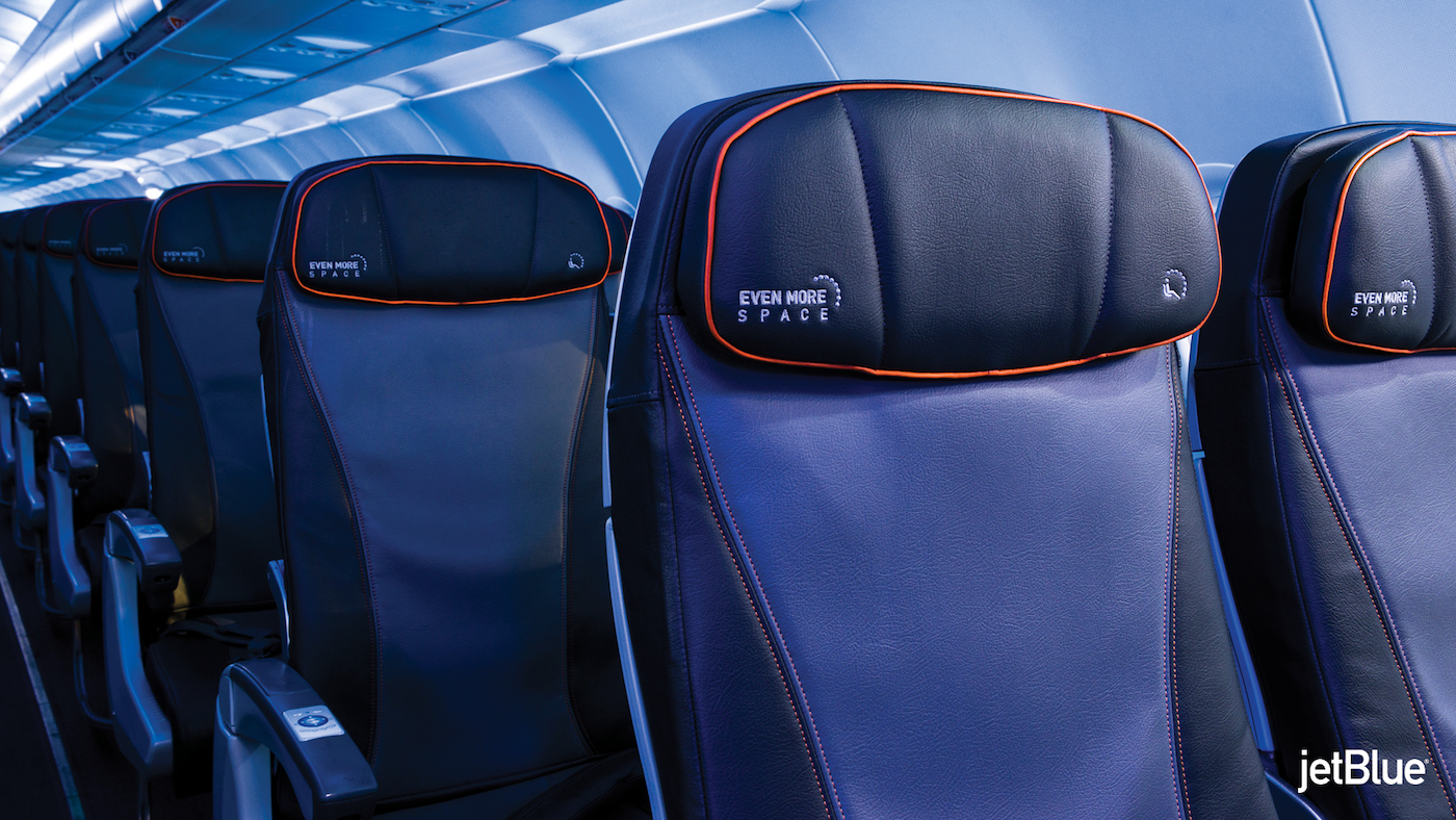 JetBlue's 2018 cabin upgrades for its 'A320 classics' include the installation of Pinnacle aircraft seats from Rockwell Collins