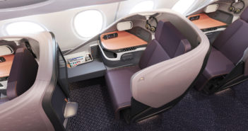 Singapore Airlines' new A380 business class