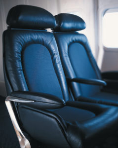 The 1997 Concorde seat. Image: Factorydesign