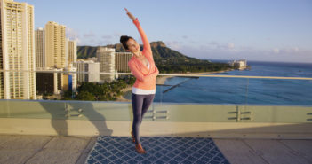 Wainani Arnold, Hawaiian Airlines health and wellness video expert