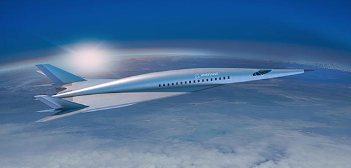 Boeing concept hypersonic passenger aircraft