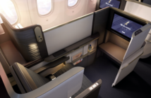 Gulf Air Boeing 787 Dreamliner business class