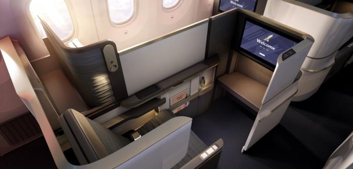 Gulf Air Boeing 787 Dreamliner business class