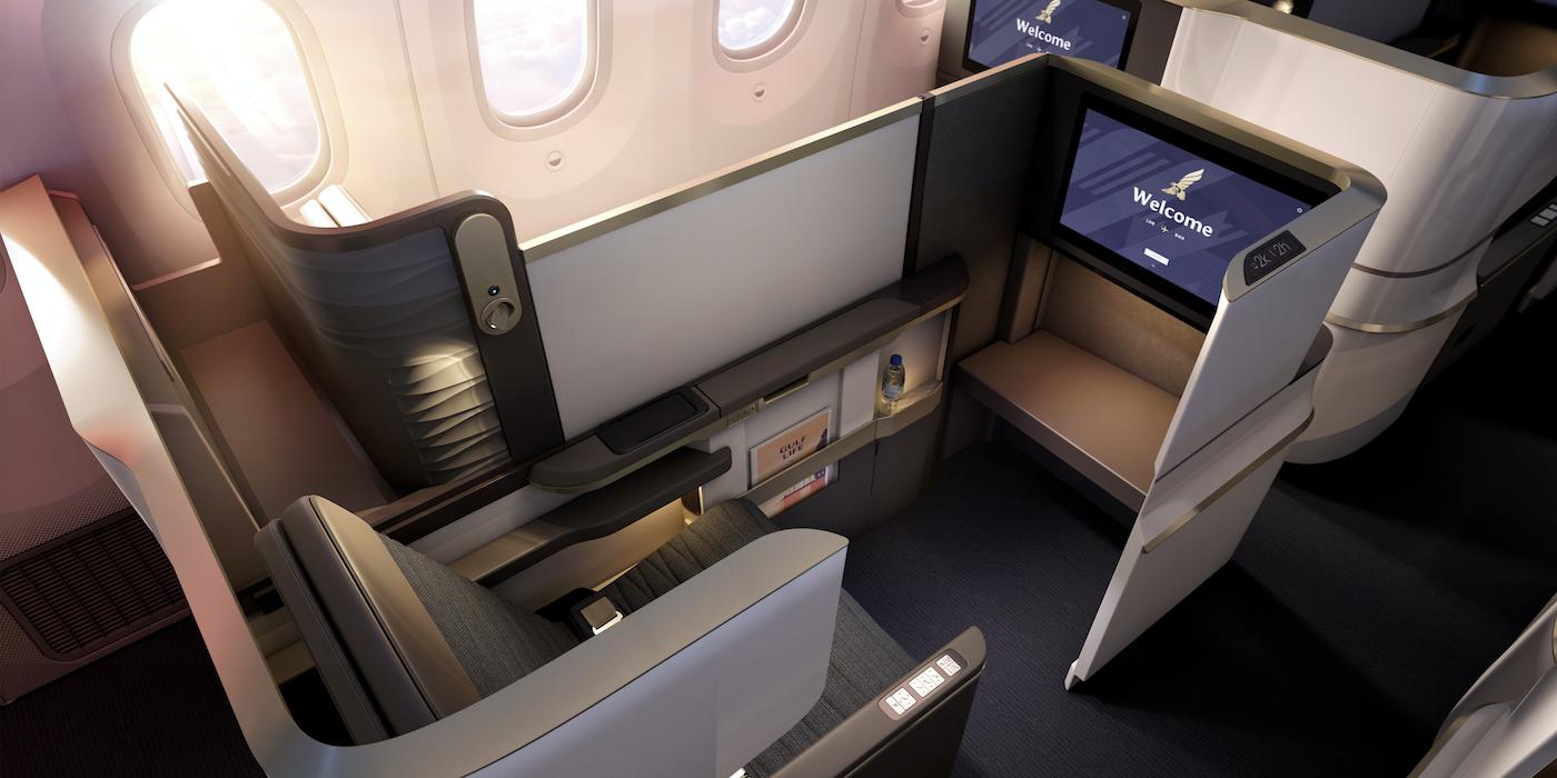 Gulf Air unveils its Dreamliner business class - Aircraft Interiors