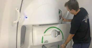 WestJet has commissioned Dubai-based cabin crew training simulator supplier, Spatial to manufacture a Boeing 787 Dreamliner door trainer