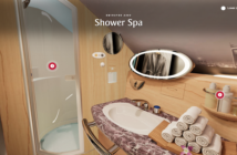 Only top-tier flyers get to enjoy the Shower Spa experience on Emirates' A380s, but with the new VR technology, everyone can get a sense of the space