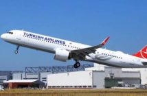 Turkish Airlines Airbus A321neo in Cabin Flex configuration
