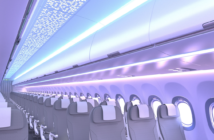 Partner FACC manufactures stowages, ceiling panels and entrance areas for the A320 Airspace cabin