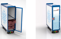 Bucher says the ARCTICart can improve food quality, as temperature differences within the cart are minimal, whether meals are stored in the top front drawer or the bottom back tray