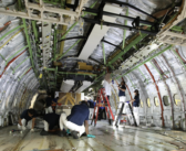Emirates Engineering reconfigures a Boeing 777-200LR