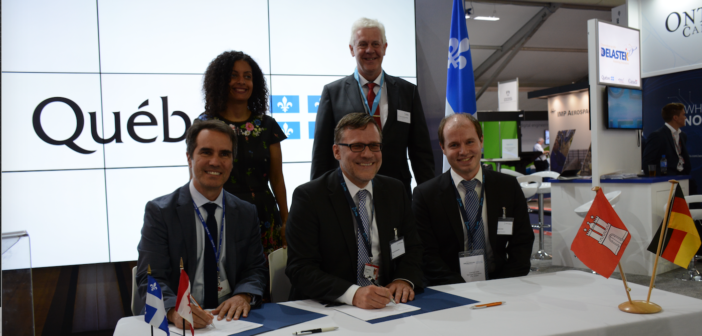 MOU deepens Hamburg and Québec research cooperation