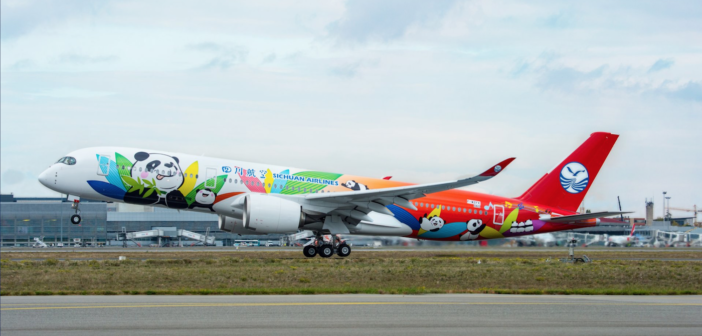 Sichuan Airlines equips A350 with Thales Avant IFE