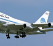 On October 30, 1977 Pan American World Airways, Pan Am, made history when its Boeing 747SP (New Horizons' (N533PA)) completed 'Pan Am Flight 50' over both the North and South Pole in a record 54 hours, 7 minutes