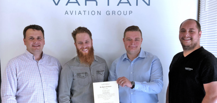 Vartan Aviation Group opens FAA certified Repair Station in Seattle