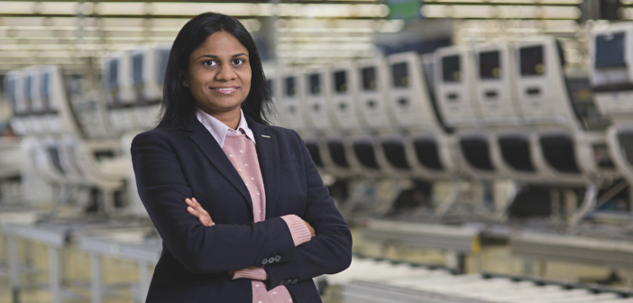 Sunitha Vegerla is now director of quality & process management at Recaro Aircraft Seating Americas