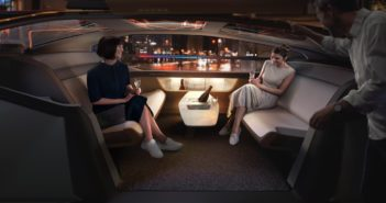 Volvo 360c Interior Party
