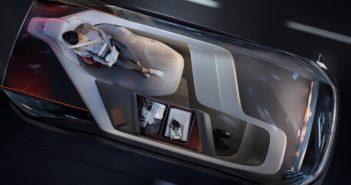 the Volvo 360C autonomous car layout