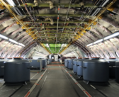 If the wiring in an A380 was laid out end to end, how far would it stretch?