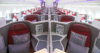 Hong Kong Airlinesupgrades A350 business class