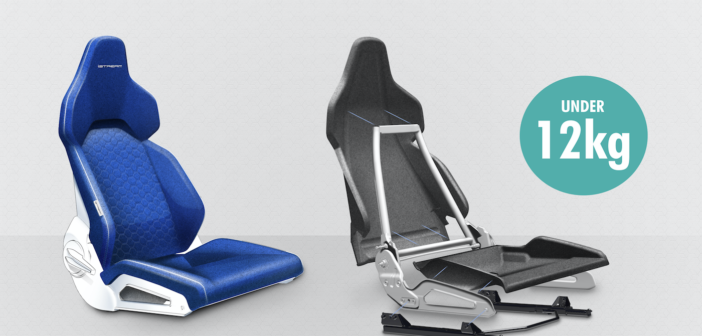 A Formula 1 manufacturing concept for aircraft seating