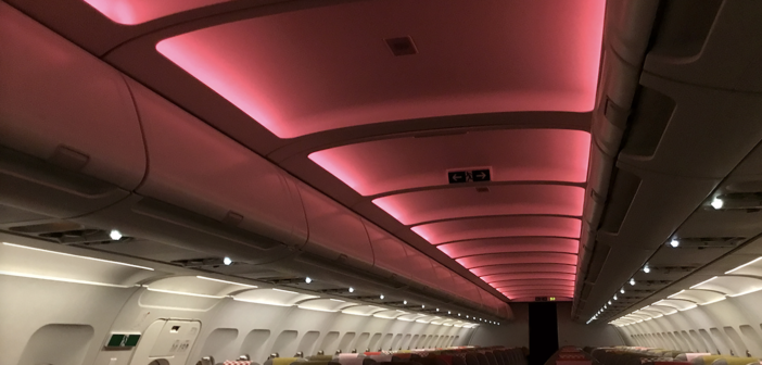Volotea to fit liTeMood LED systems on Airbus fleet