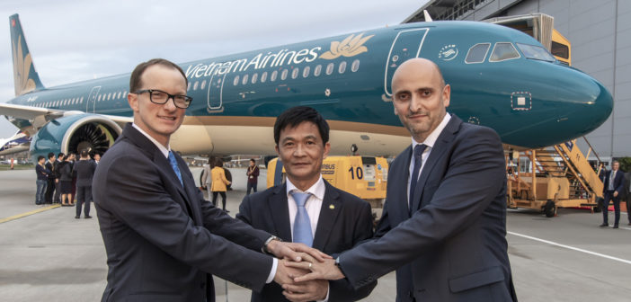 Vietnam Airlines continues fleet renewal with its first A321neo