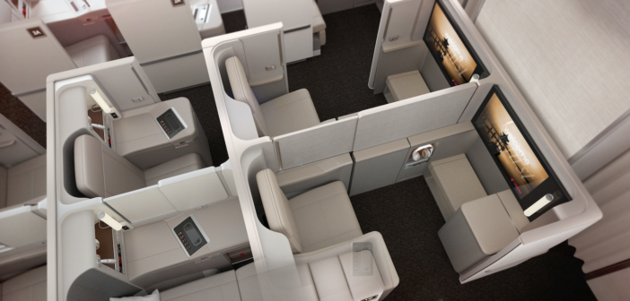 Shanghai Airlines unveils a cleverly differentiated first and business class
