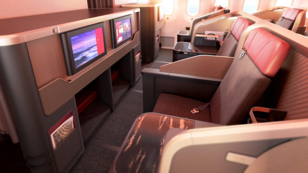 LATAM Thompson Aero Seating Vantage business class