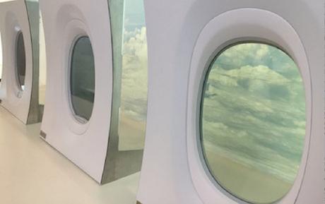 Boeing 777x window