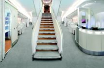 A380 cabin