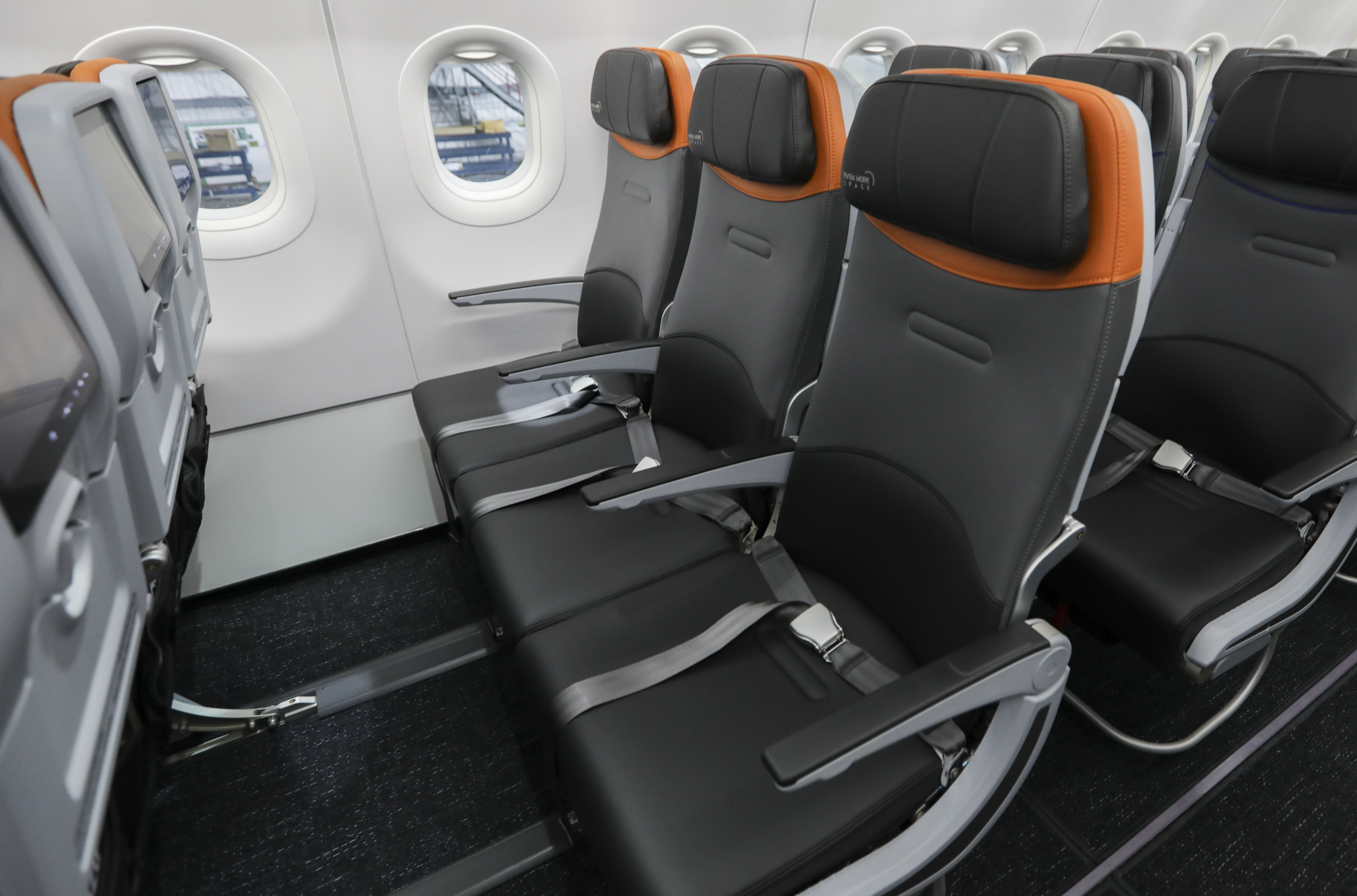 The Meridian seatfrom Collins Aerospace is being fitted to the 2019 JetBlue A320 cabins