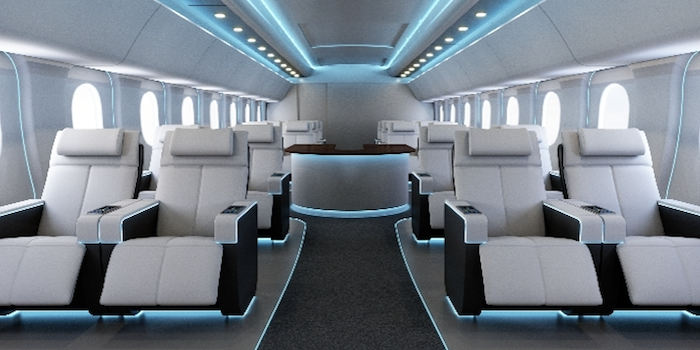 Astronics Launches Ambient Cabin Lighting System