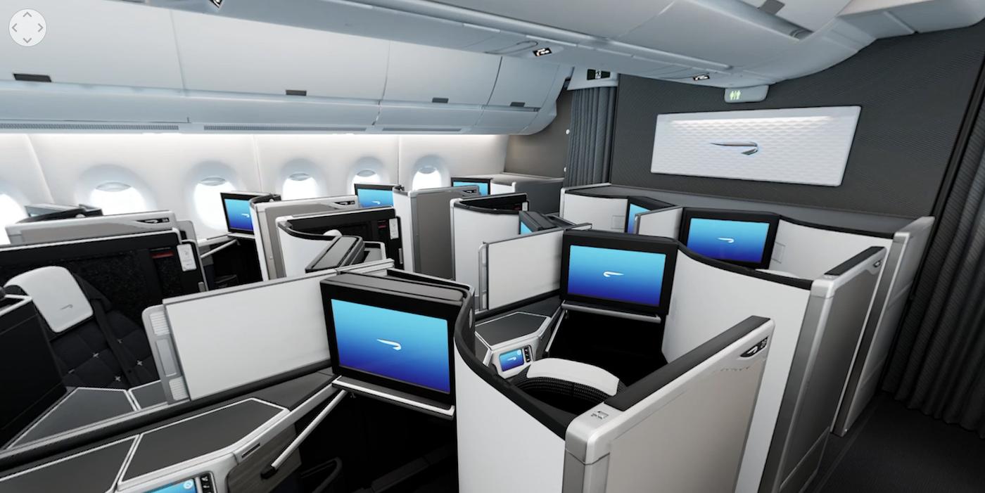 Explore BA's A350 Club World cabin in 360° - Aircraft Interiors
