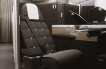 British (Airways) understatement. The high-quality seat will be trimmed in luxurious textiles with pale wood trim